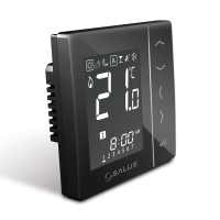 SALUS VS10B терморегулятор с сенсорным дисплеем